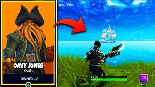 EARLY *LEAKED* SEASON 5 TIER 100 SKIN in Fortnite! - Fortnite Battle Royale Saison 5 PIRATE THEME