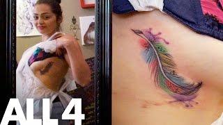Beautiful Breast Tattoo | SeXXXy Tats