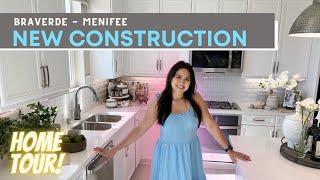 BRAVERDE New Construction T๐ur   Pearl Model Seasons Elevated   Menifee CA   2370 sq ft, 3-5 bedroom