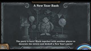 Hearthstone - Tavern Brawl - A New Year Bash