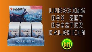 Unboxing Set Booster box Kaldheim [MTG ITA]