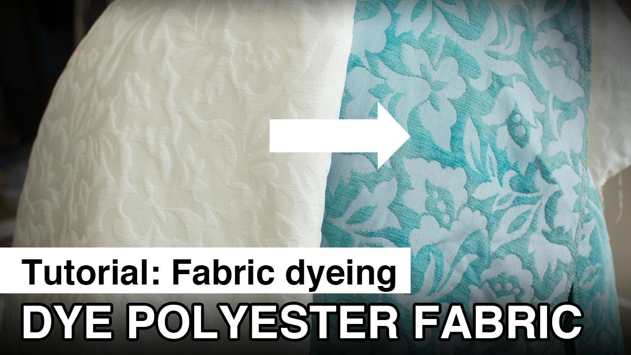 Dye Polyester Fabric For Your Cosplay Youtube