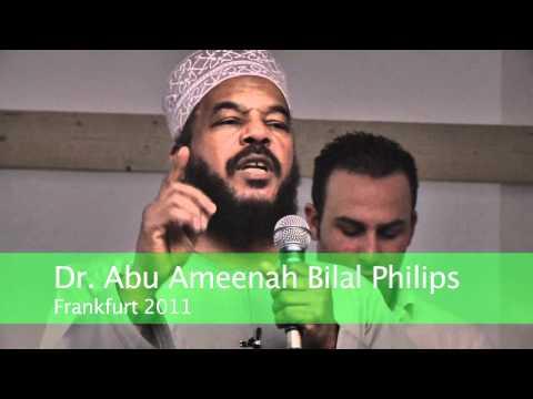 Pierre Vogel in Frankfurt (2011): Abu Ameenah Bilal Philips (3)