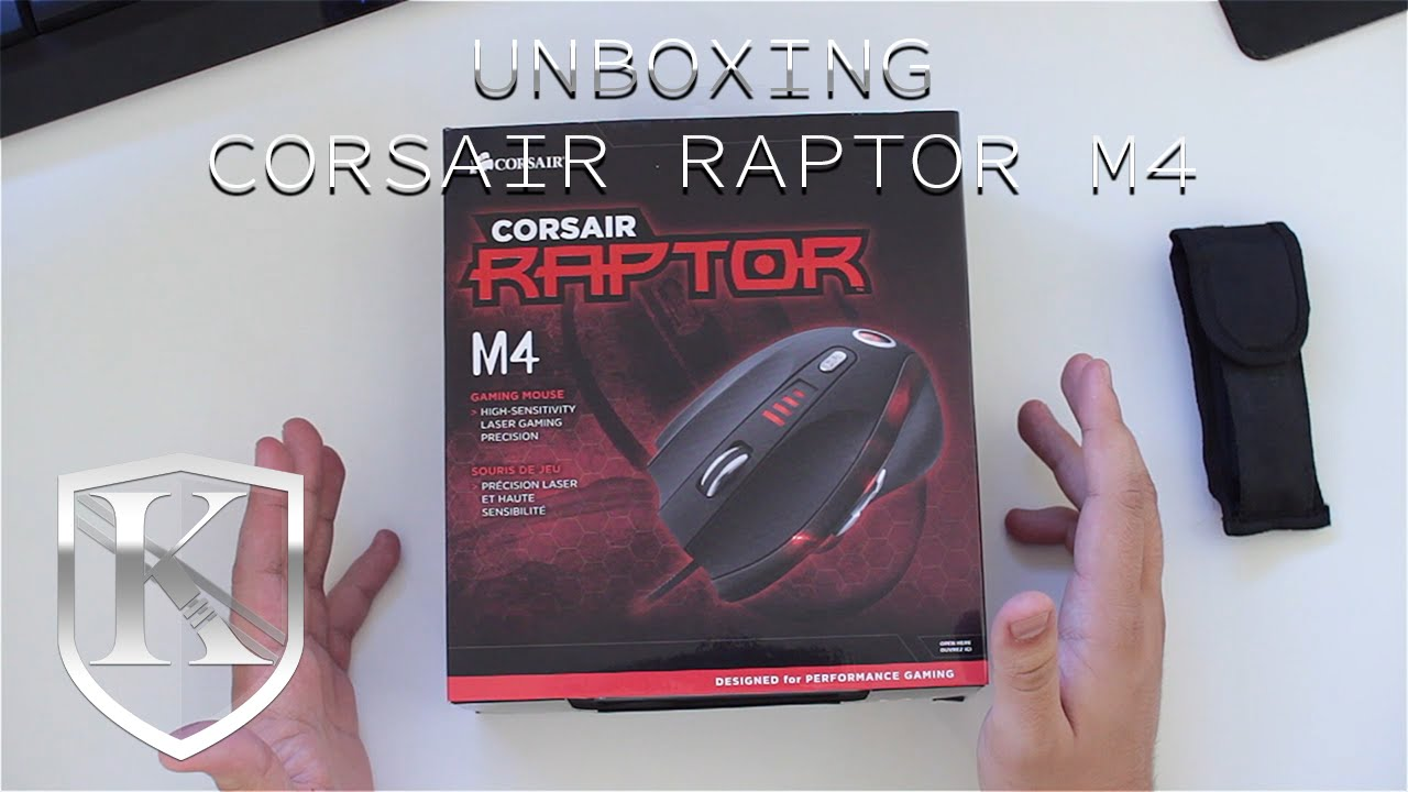 Corsair Raptor M4 Mouse Driver for Windows Mac
