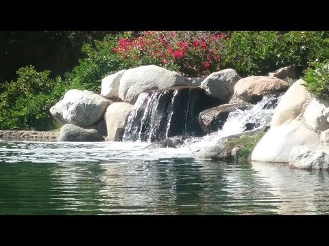 Relaxing waterfall sounds for meditation Шум водопада для релаксации