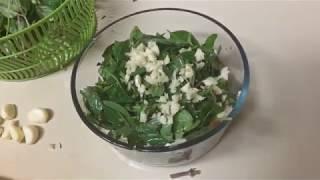 №72. Очень вкусный сыроедческий салат. Помидоры и базилик