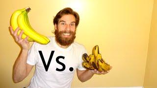 Ripe Vs Unripe Bananas