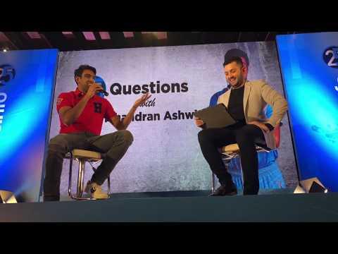 Rapid Fire Questions with Ravichandran Ashwin -ESPN Cricinfo -25 years