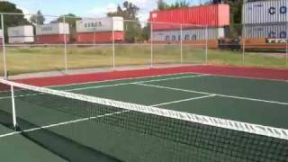 Tennis Court / Train
