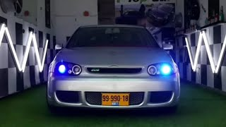 اقوى تعديل من الصفر لسياره جولف The most powerful modification of the car golf mk4 v6  4motion
