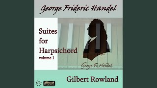 Harpsichord Suite in A Major, HWV 454: II. Courante