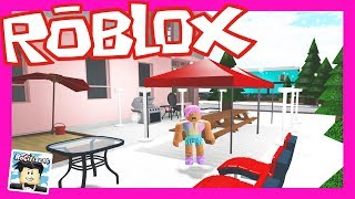 MY PATIO IS SEEN BETTER !!! l ROCITIZENS l ROBLOX