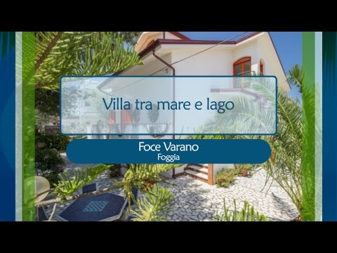 Villa Fina a Foce Varano tra mare e lago - rif. 1743769 - YouTube