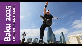 Red Bull and Baku 2015 bring freestyle soccer skills to the streets of Baku | Baku 2015