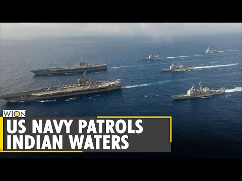 US Navy patrols Indian waters, Pentagon has defended the move | World News | WION