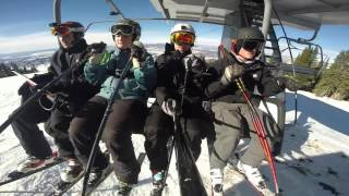 Skiing Steamboat Springs Resort
