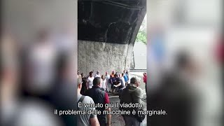 Genova, crolla ponte Morandi. La lucidità del poliziotto:
