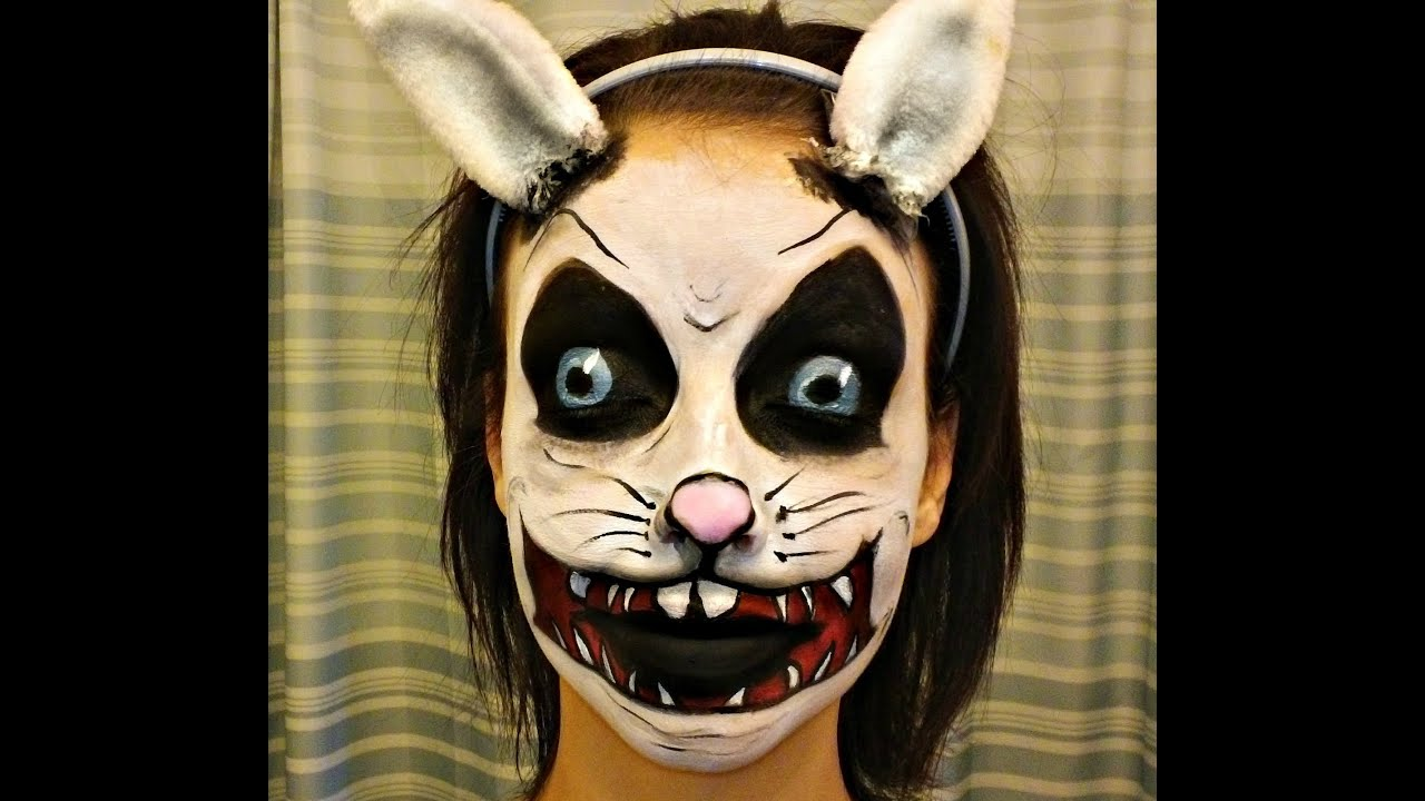 IM BACK Easter Bunny Face Paint Tutorial YouTube