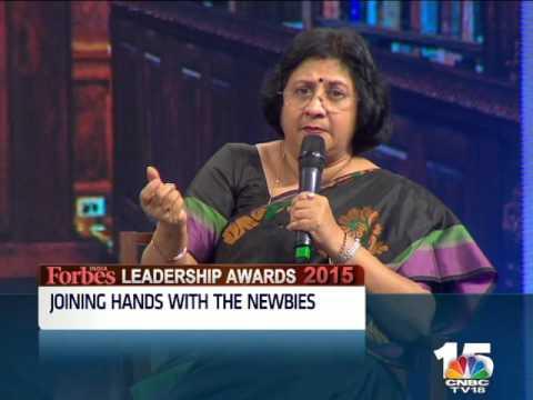 Forbes India Leadership Awards: Uday Kotak & Arundhati Bhattacharya 2