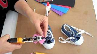 Decorate kids' shoes - OWIMO Design Upcycling Thumbnail