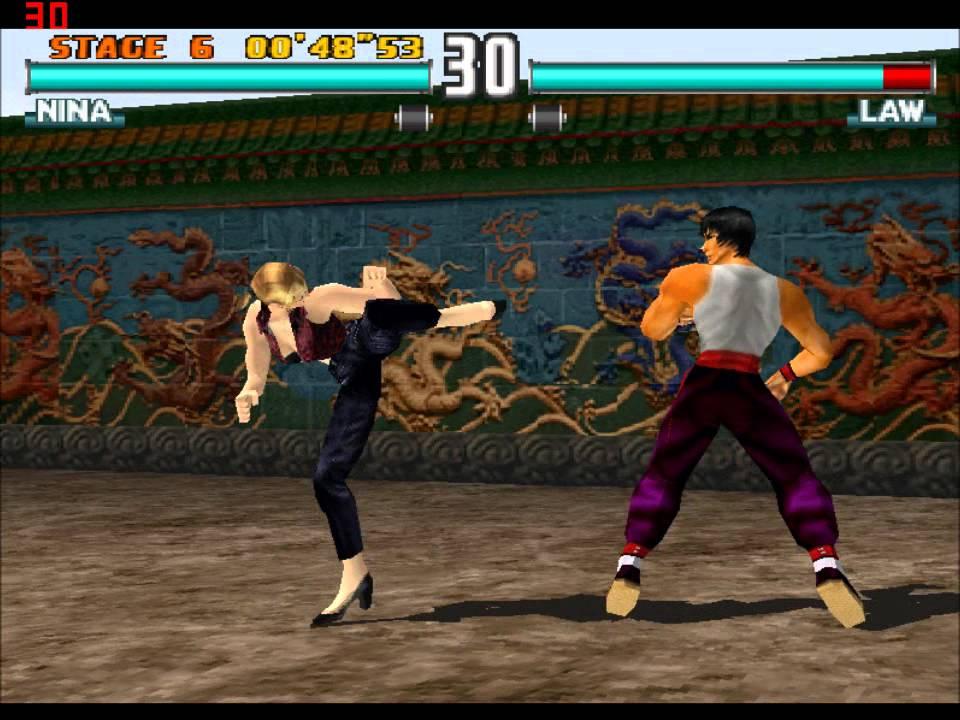 Tekken 3 Nina Gameplay And Ending Youtube