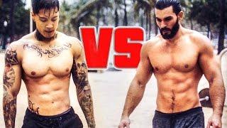 Chris Heria VS Super Sergio - BAR WARS 2k16 #4