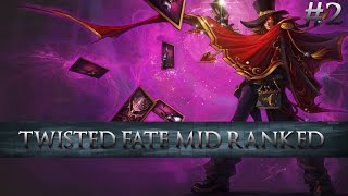 Twisted Fate Mid Ranked Gameplay #2 Lady Lucky is smiling