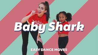 BABY SHARK - PINKFONG | Easy Kids Dance Video | Animal Song | Choreography