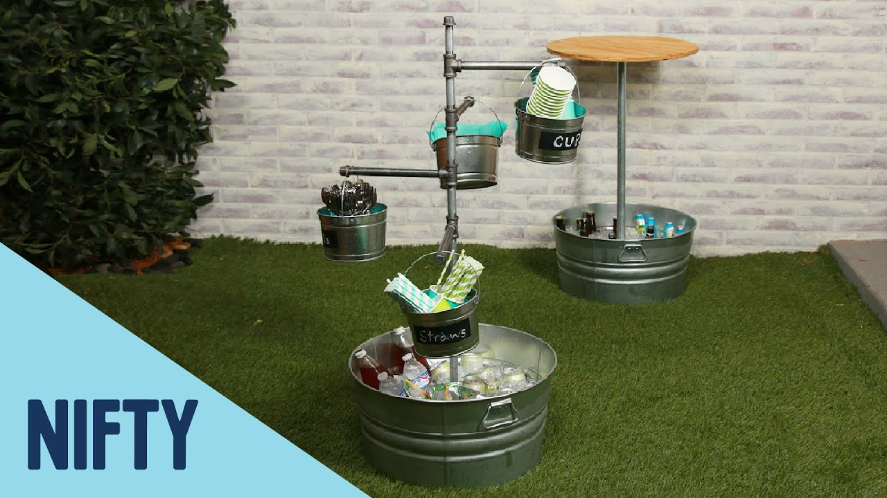 Upcycled Party Cooler Tower