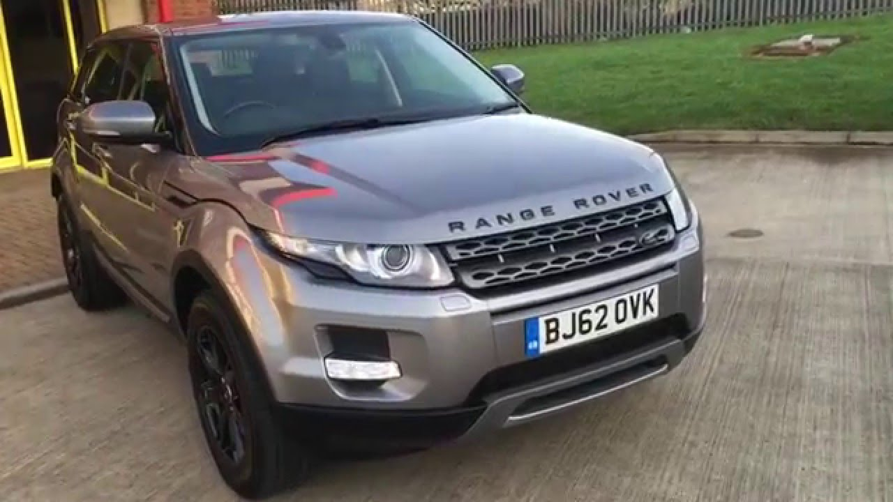 2015 Land Rover Range Rover Evoque Pure >> Range Rover Evoque Pure Tech with Panoramic Roof - YouTube