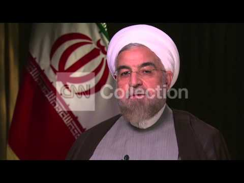 IRANIAN PRES ROUHANI ON NUCLEAR DEAL