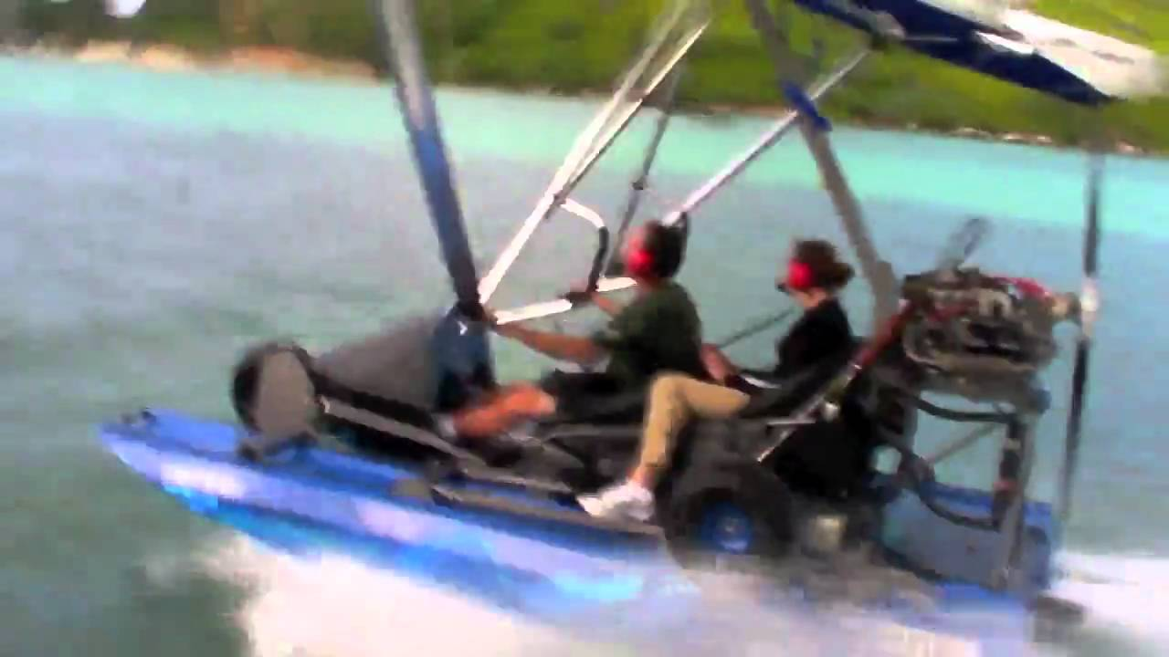 Amphibious Cygnet Flying Boat Aircraft in Seychelles