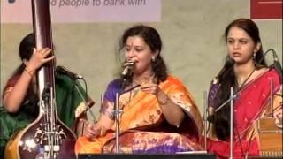 Surmani Saniya Patankar senior disciple of Dr Ashwini Bhide Deshpande performing in the SAWAI GANDHA