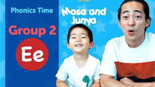 Group 2: Ee | Phonics Time with Masa and Junya | Made by Red Cat Reading