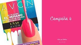 ¡Dale color a tu verano con los Esmaltes Avon!