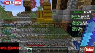 Jogando Minecraft, 1.8 rankup Op- BORA 500SUBS #500SUBS