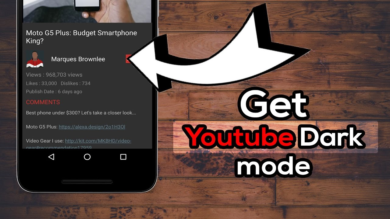 youtube android dark mode release date