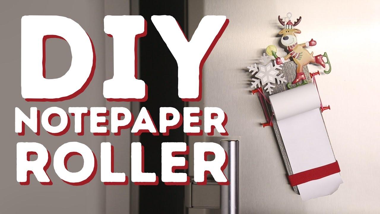 How to make a DIY notepaper roller l 5-MINUTE CRAFTS