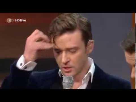 Justin Timberlake - Mirror Live bei Wetten dass