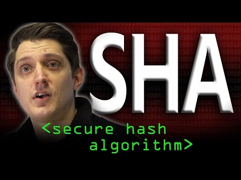 SHA: Secure Hashing Algorithm - Computerphile