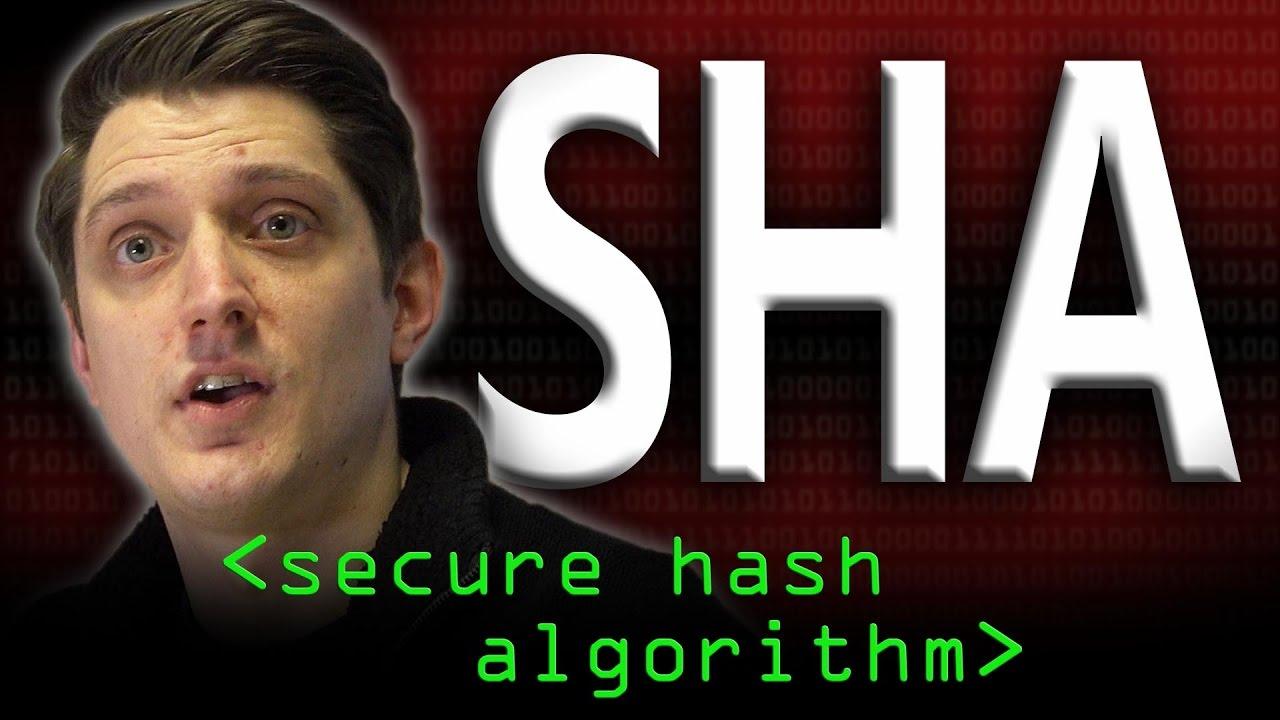 SHA: Secure Hashing Algorithm - Computerphile