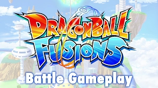 Dragon Ball Fusions - 3DS - Battle Gameplay (English)