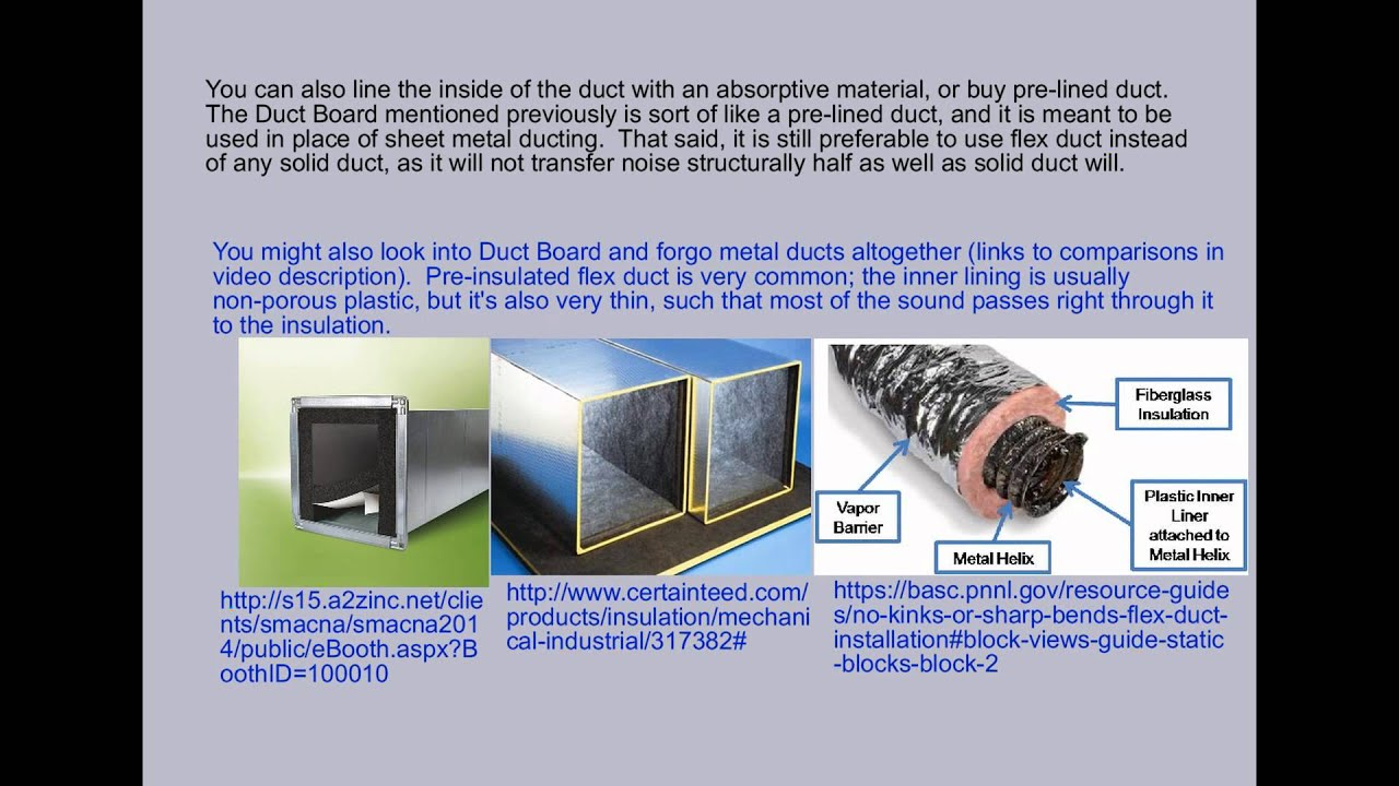 Soundproofing  6  Hvac And Plumbing   YouTube