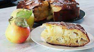 Шарлотка с яблоками на кефире. Рецепт яблочного пирога