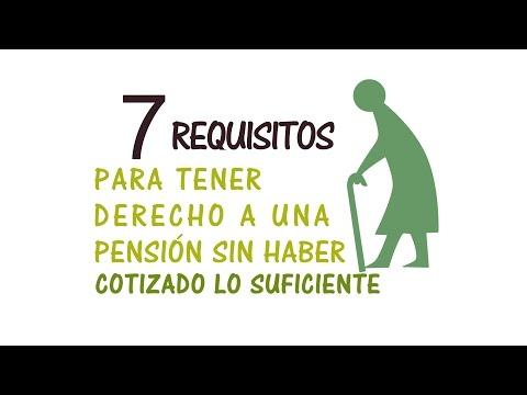 7-requisitos-para-tener-derecho-a-una-pensión-sin-haber-cotizado-lo-suficiente