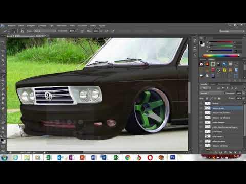 Speed Art virtual tuning Brasilia