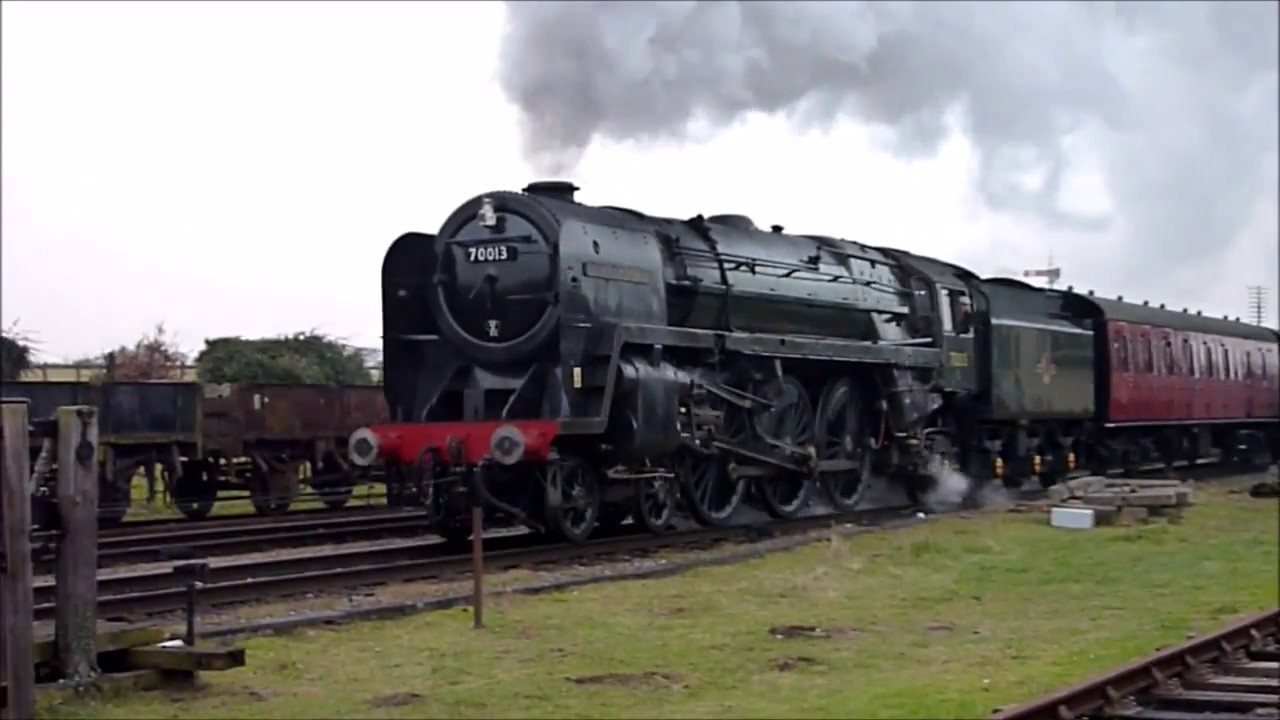 (HD) GCR Steam Gala, Quorn Station, 27/01/17 - YouTube