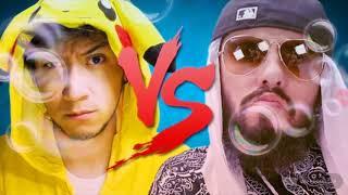 React batalha de youtubers hiro vs mussoumano