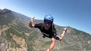 Martin Schricke Funny Paragliding JUMP (Drift HD Ghost) Thumbnail