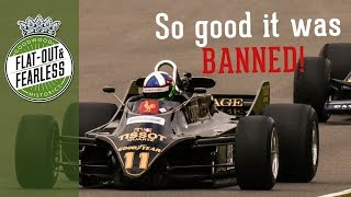 Lotus Type 88 - The BANNED F1 car(The first and only twin chassis Formula 1 Car. Passed and then banned by the FIA on the eve of the Silverstone Grand Prix., 2016-04-03T16:00:00.000Z)